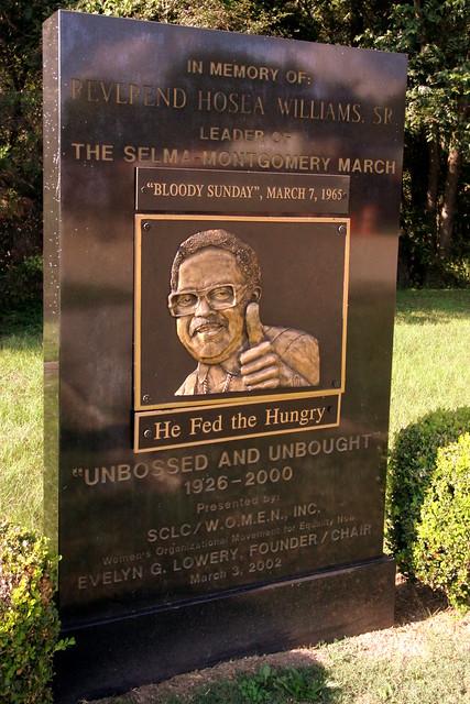 Rev. Hosea Williams, Sr. - Civil Rights Memorial Park, Selma, AL
