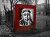 KR (Thomas Heuck) Tags: keith richard greifswald tor gate strasenfotografie street olympus ep5 schwarzweis rot red