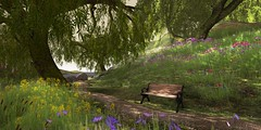 a touch of spring (flubs ♥) Tags: outdoor nature secondlife flickr firestorm
