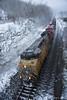 Momentum, Columbia Gorge, Oregon (Gary L. Quay) Tags: columbia gorge oregon train union pacific rail railroad locomotive snow winter 2018 february gary quay