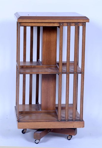 Revolving Bookcase w/ Inlay ($336.00)