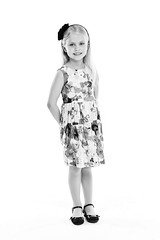 Young lady (LalliSig) Tags: white high key kid kids portrait portraiture studio people iceland photographer barn börn barnamyndataka