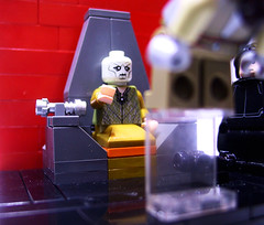 Another shot from the Snoke vignette (Sethalonian's Gallery) Tags: lego star wars starwars minifig minifigure snoke rey kylo ren kyloren