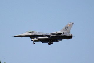 U.S. Air Force F-16C Fighting Falcon, 55th FS,