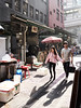 Jan 02, 2018 (pavelkhurlapov) Tags: couple sunny backlit street buildings light shadows streetphotography cafe people