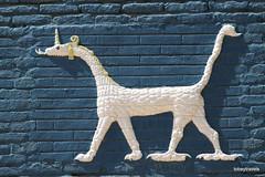 Ishtar Gate (Replica), Babylon (3).jpg (tobeytravels) Tags: iraq babylon babel mesopotamia akkadian amorite hammurabi assyrian neobabylonian hanginggardens achaemenid seleucid parthian roman sassanid alexanderthegreat nebuchadnezzar sargon chaldean hittites sennacherib xerxes