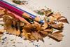 Trucioli di legno e colore (RM) (Stefano Innocenzi) Tags: macro colori vita legno disegno trucioli uso stilllife