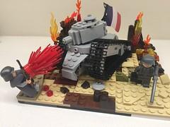 Battle of Verdum 1916 (Frosty Bricks) Tags: ww1 battle lego verdum