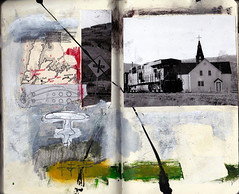 tryin to get to heaven (Bernie Vander Wal) Tags: notebook collage