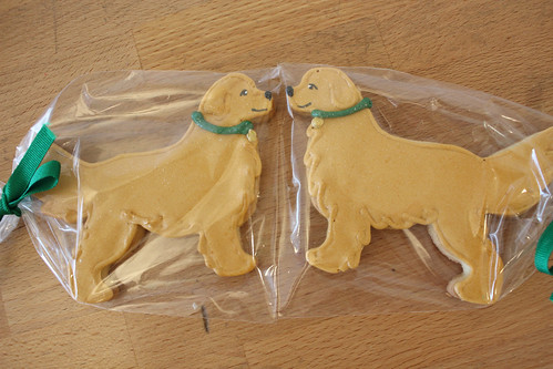 Golden Retriever Cookies