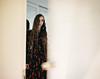 (Alberto Bandini) Tags: pentax67 kodak 120mm girl longhair door room