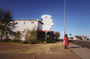 bonecold (roadkill rabbit) Tags: girl abandoned motel route66 travel weeds newmexico