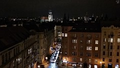 Evening from the Restaurant (zeesstof) Tags: zeesstof vacationdestination czechrepublic prague city hotel view viewfromwindow restaurant hotelrestaurant finedining reservation