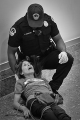 """""""The most beautiful people we have known are those who have known defeat, known suffering, known struggle, known loss... (TW Collins) Tags: ada americanswithdisabilitiesact compassion emapthy capitolpolice adapt protest resist dirksensenateofficebuilding takeaknee"""