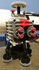 Deorbit Will Robinson (Daddy Ogre) Tags: lego technic cubesat lander lunar lostinspace b9 robot danger