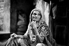 A Moment of Thought (anthonypond) Tags: 50mmsummilux bw leicam9 calcutta india