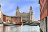 Liver Building from Princes Dock (Bob Edwards Photography - Picture Liverpool) Tags: dock docks princes liverpool mersey peel royalliver