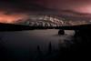 Small Stone...... (Anotherstateofmind) Tags: rockymountains banff banffnationalpark alberta snow mountrundle lakelouise canmore twojacklake lakeminnewanka night clouds stars winter lake sundown