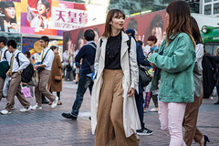 No, You Blink First (burnt dirt) Tags: asian japan tokyo shibuya station streetphotography documentary candid portrait fujifilm xt1 laugh smile cute sexy latina young girl woman japanese korean thai dress skirt shorts jeans jacket leather pants boots heels stilettos bra stockings tights yogapants leggings couple lovers friends longhair shorthair ponytail cellphone glasses sunglasses blonde brunette redhead tattoo model train bus busstation metro city town downtown sidewalk pretty beautiful selfie fashion pregnant sweater people person costume cosplay green brown white pink black