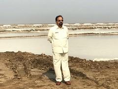 Visited Egal and Supar a very big Salt pen (Mitha Agar) with Mr.Adil Patel at near Devla Taluka Jambusar District Bharuch Gujarat India. (MI Patel) Tags: