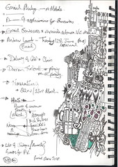 The Normal Papers - 2 (the justified sinner) Tags: justifiedsinner normalpapers list drawing sketch doodle ink crayon bathfestival fringe notes scan
