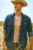 HOME I (J#K) Tags: man male artistic portrait fashion jeans denim cowboy homme artistique mode malephotography fashionphoto country home paysage