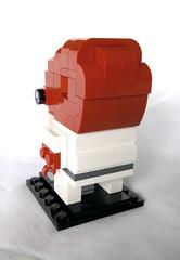 Admiral Ackbar (instructions available) (tomvanhaelen) Tags: lego star wars admiral ackbar custom brickheadz moc