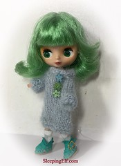 Little Jade gets her new outfit ..boots in etsy