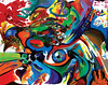 Inhabitantz Eye (MattCrux) Tags: psychedelic lsdtrip acid abstract trippy colorful rainbow lsd strange weird drug drugs weed high trip love acrylic painting acrylicpainting traditional canvas paint painted artist drawing illustration art arts expressive different beautiful artsy creativity creative