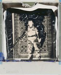 rose-tico (kaumpphoto) Tags: rose tico polaroid instant 680 bw black white monchrome starwars jedi figure toy action drylift manipulation scratch score rebel