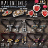 L&B Valentine His & Hers Jewelry Collection - Gacha Key (Lapointe & Bastchild) Tags: theepiphany january secondlife sl lapointe bastchild lapointebastchild lb swear jewelry necklaces chokers cordejewelry torc beads celtic heart diamons ruby gold platinum silver rings earrings valentine valentines valentinesday gift romance romantic gacha gotcha