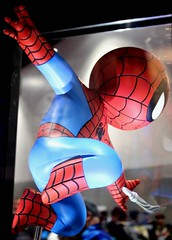 2017-Gentle Giant's Spider-Man Display at SDCC-01 (David Cummings62) Tags: sandiego ca calif california comiccon con david dave cummings 2017 spiderman marvel comics statue gentlegiant movies tvseries animated