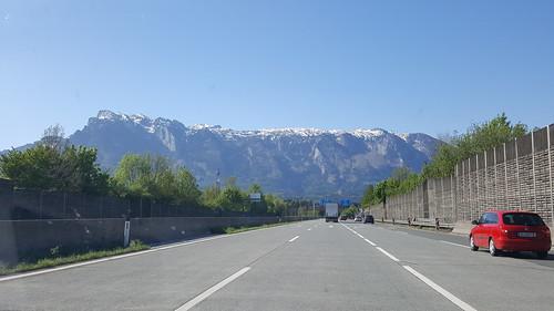 Dolomite's roads