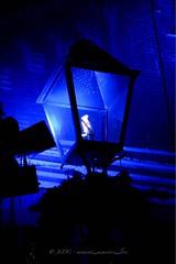 Color pop (OriginalJo) Tags: photooftheday photography brewerydistrict toronto outdoors glowing glow lighting blueworld colorblue lantern light bluelight blue