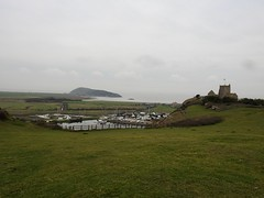 View From Uphill Hill, Weston-Super-Mare, Somerset 6 February 2018 (Cold War Warrior) Tags: river marina nicolas uphill brean weston church