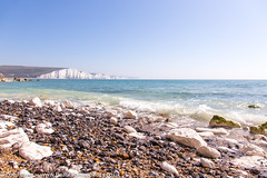 Hope Gap and the Seven Sisters, East Sussex, UK *2* (Zoë Power) Tags: hopegap sevensisters uk whiterocks chalkcliffs seaford beach coast eastsussex whitecliffs