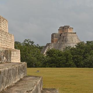 Mexico - Yucatan - Uxmal - Piramide del Adivino