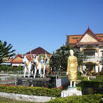Wat Kampheng Pagoda Sculpture Park, Battambang thumbnail