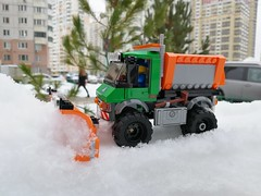 21IMG_20180217_162702 (maxims3) Tags: lego city 60083 snowplough truck снегоуборочная машина traffic обзор review