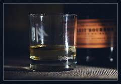 Enjoy responsibly... (GlebLv) Tags: simplepleasures flickrfriday sony a6000 sel50f18 bourbon whiskey bulleit relax evening friday inexplore