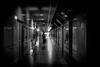 Triple vision (明遊快) Tags: bw blackandwhite urban japanese osaka underpass man reflections shadows lights