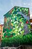 Muralmålning, Stockholm (PG63) Tags: jungle alexculafic djungel vasastan kollektivetlivet carladamkjellström mural stockholm hagagatan