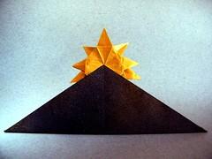 Sunrise - Kunsulu Jilkishiyeva (Rui.Roda) Tags: origami papiroflexia papierfalten nascer do sol sunrise kunsulu