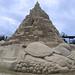 Größte Sandburg der Welt in Duisburg