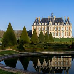 Chateau du parc de Sceaux (Daniel_Hache) Tags: chateau hiver january janvier parcdesceaux soleil winter