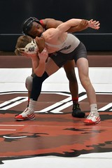 BRO-STA 125 2018-01-13 DSC_7974 (bix02138) Tags: brownuniversity brownbears stanforduniversity stanfordcardinal pizzitolasportscenter pizzitolasportscenterbrownuniversity providenceri january13 2018 wrestling sports intercollegiateathletics athletes jocks ©2018lewisbrianday 125pounds 125 gabrieltownsell treykeeley