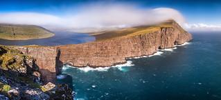 Cliffhanger | Lake Sørvágsvatn, Faroe Islands