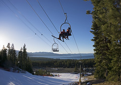 After school ski practice on World Cup (benjaminfish) Tags: heavenly lake tahoe california ski kid race train junior alpine february 2018