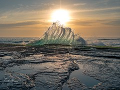 Splashy Terrigal, NSW, Australia (Laith Stevens Photography) Tags: water waves warm sea sunrise olympus olympusinspired omdem1 olympusomd olympusau ocean olympusaustralia outdoor omdem1mkii goneawol getolympus splash ngc visitaustralia morning 1240mmf28pro summer zuiko light rocks beach terrigal