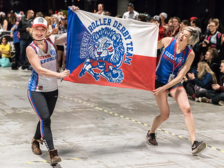 Roller Derby World Cup 2018 - Closing Ceremony 1